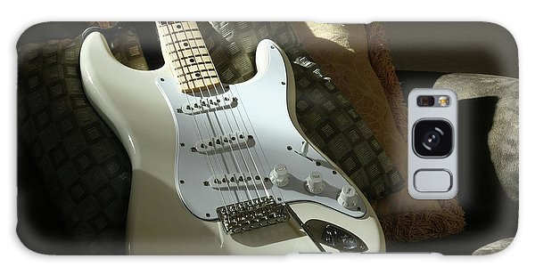 Cream Guitar Galaxy Case