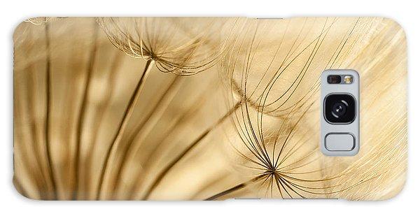 Creamy Dandelions Galaxy Case