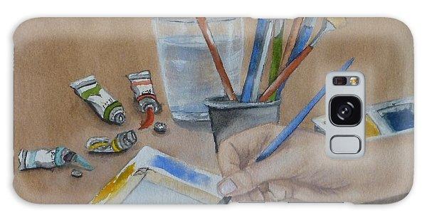 Creating A Watercolor Galaxy Case