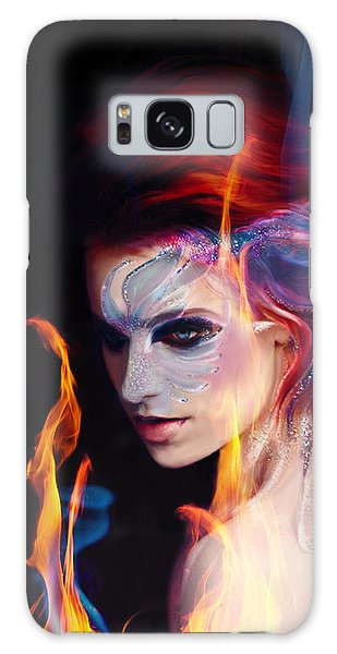 Creation Fire And Flow Galaxy Case