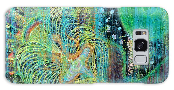 Creation Of Adam And Eve Galaxy Case