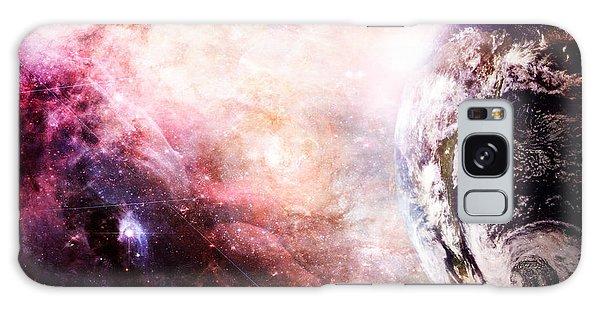 Creation Of Earth Galaxy Case by Stephanie Frey