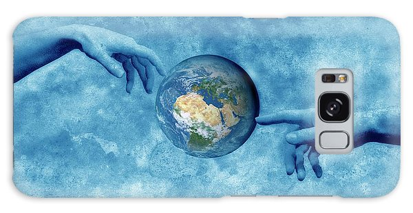 World Religion Galaxy Case - Creation Of The Earth by Detlev Van Ravenswaay