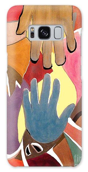 Creative Hands Galaxy Case
