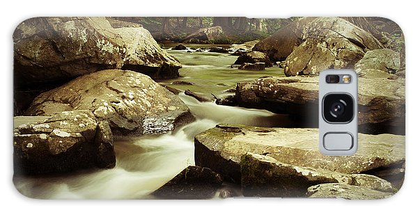 Creek At St. Peters Galaxy Case by Michael Porchik