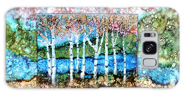 Creek Birches Galaxy Case