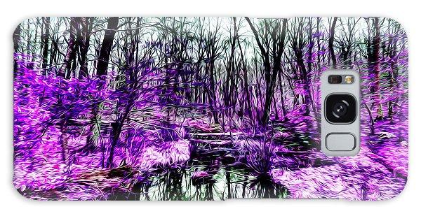 Creek By Purple Galaxy Case