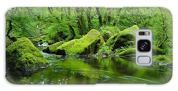 Creek In The Woods Galaxy Case