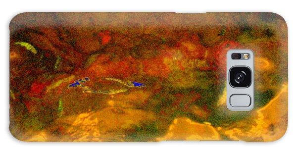 Creekwater Abstract 3 Galaxy Case by Deborah  Crew-Johnson