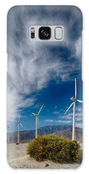 Creosote And Wind Turbines Galaxy Case