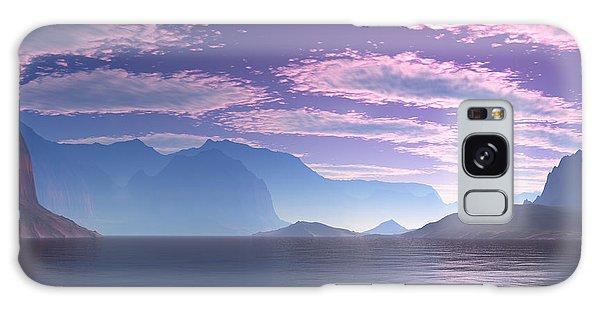 Crescent Bay Alien Landscape Galaxy Case