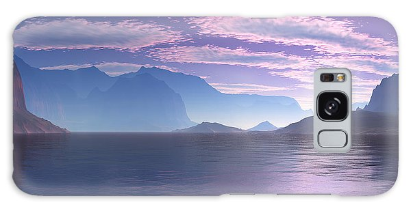 Crescent Bay Alien Landscape Galaxy Case