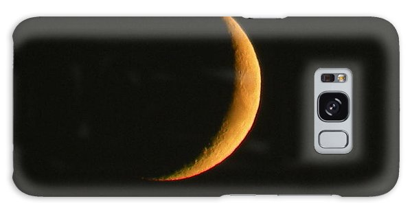 Crescent Moon Galaxy Case by Brian Chase