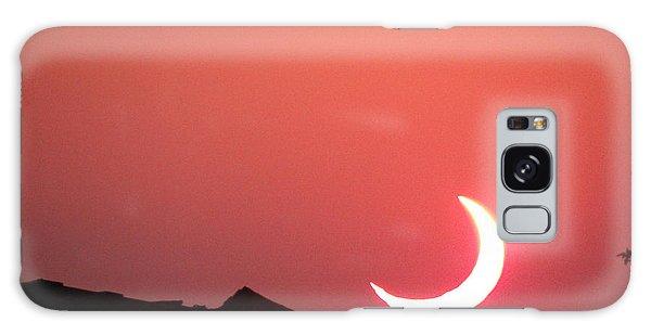 Crescent Sunset Galaxy Case