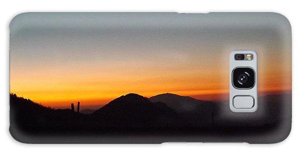 Crest Sunset Galaxy Case