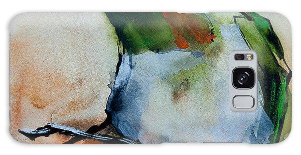 Crested Croquette Hummingbird Galaxy Case
