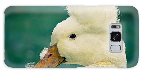 Galaxy Case featuring the photograph Crested Duck by Priya Ghose