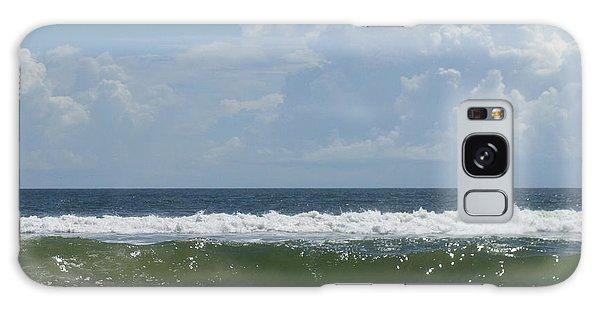 Cresting Wave Galaxy Case by Ellen Meakin