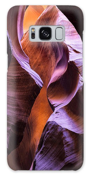 Galaxy Case featuring the photograph Crevice by Brad Brizek