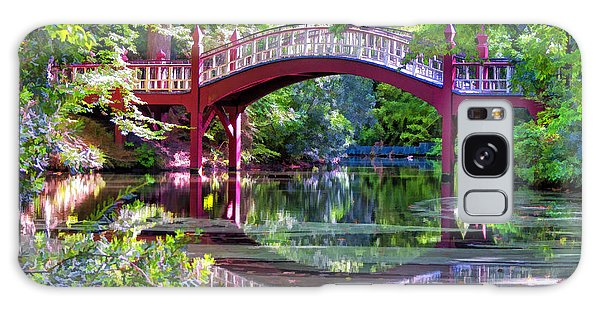 Crim Dell Bridge William And Mary College Galaxy Case