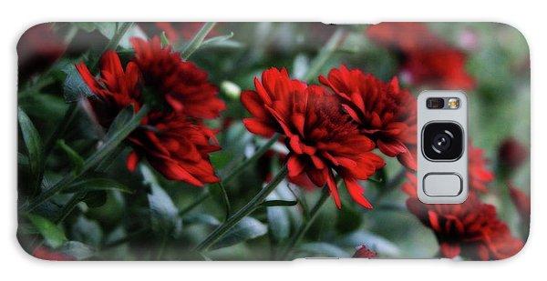 Crimson And Clover Galaxy Case