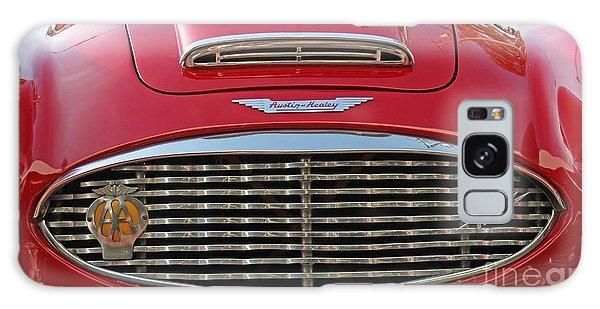 Crimson Austin Galaxy Case by Dodie Ulery