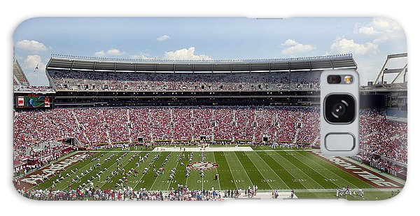 Crimson Tide A-day Football Game At University Of Alabama  Galaxy Case by Carol M Highsmith