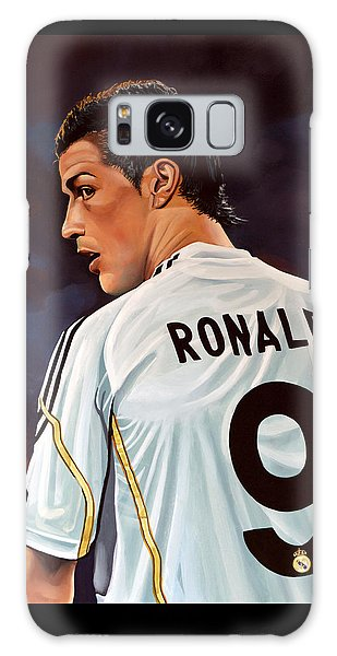 Sportsman Galaxy Case - Cristiano Ronaldo by Paul Meijering