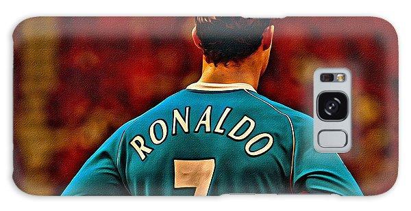 Cristiano Ronaldo Poster Art Galaxy S8 Case