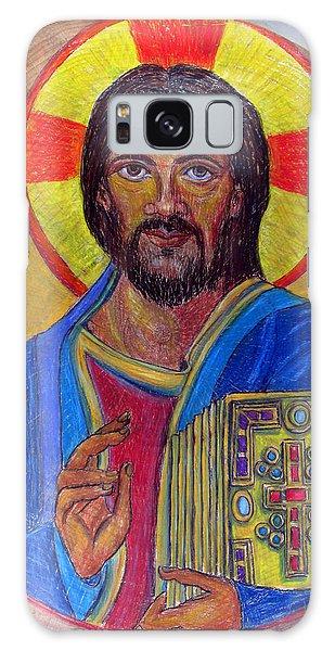 Cristo Pantocrator Galaxy Case