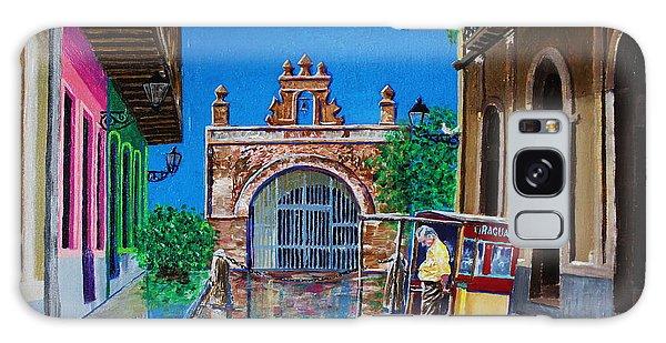 Capilla De Cristo - Old San Juan Galaxy Case by The Art of Alice Terrill