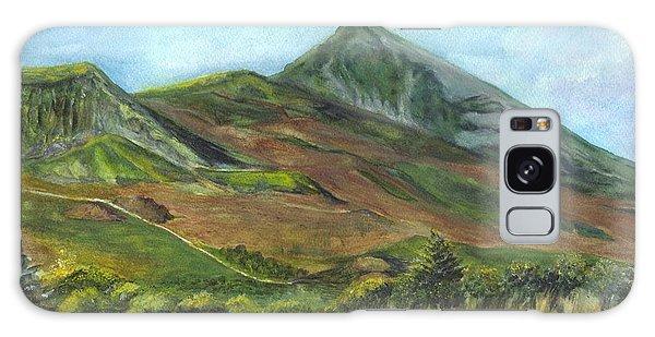Croagh Saint Patricks Mountain In Ireland  Galaxy Case