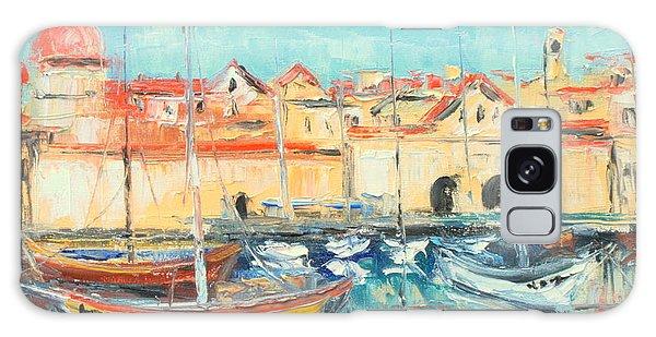 Croatia - Dubrovnik Harbour Galaxy Case