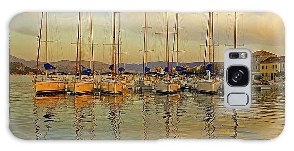 Croatian Sailboats Galaxy Case by Dennis Cox WorldViews