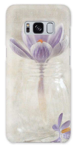 Crocus Galaxy Case by Marion Galt