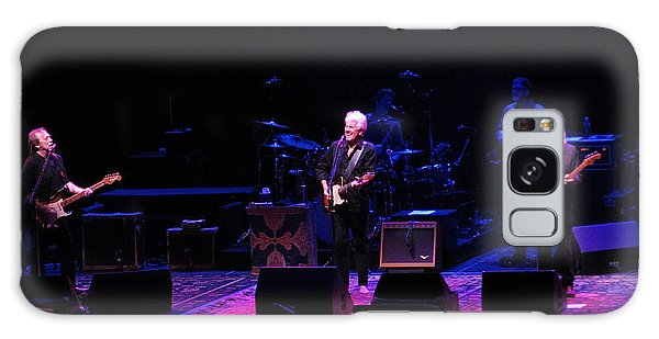 Crosby Stills And Nash Galaxy Case by Melinda Saminski
