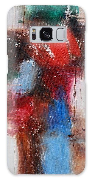 Cross And The Rose Galaxy Case by Richard Hinger