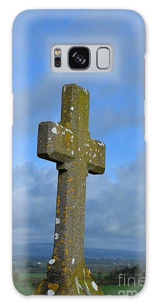 Cross At Cashel Galaxy Case