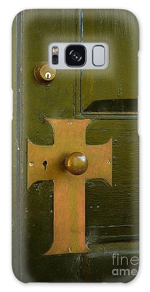 Cross Door Plate Galaxy Case