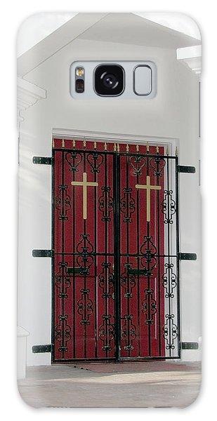 Key West Church Doors Galaxy Case