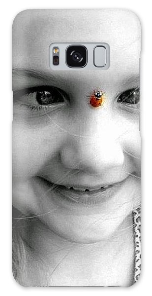 Cross-eyed For Ladybugs Galaxy Case