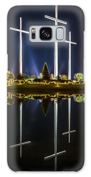 Crosses In Reflection Galaxy Case