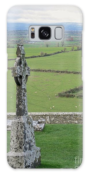 Crosses Of Cashel Galaxy Case by Suzanne Oesterling