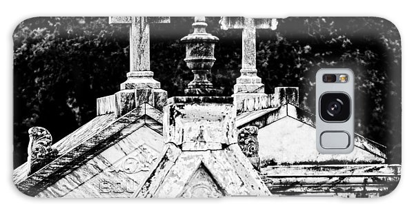 Crosses Of Metairie Cemetery Galaxy Case by Andy Crawford