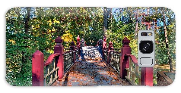 Crossing The Crim Dell Bridge Galaxy Case by Jerry Gammon