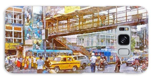Crossing The Street In Kolkata Galaxy Case