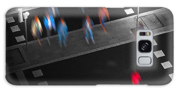 Crosswalk Galaxy Case by Pedro L Gili