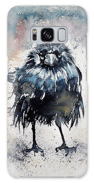 Crow After Rain Galaxy Case