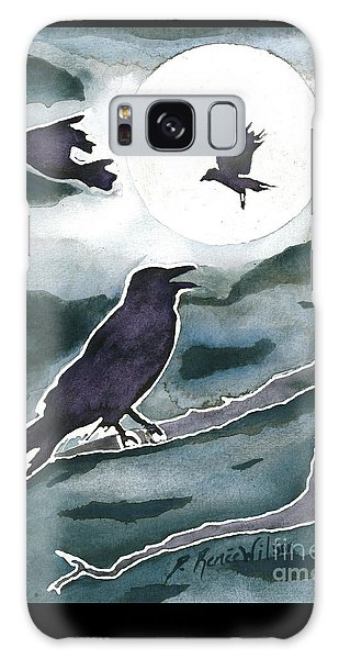 Crow Moon Galaxy Case