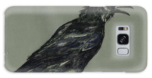 Crow Galaxy S8 Case - Crow by Juan  Bosco